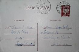 H 9 1939/45  Lettre Ou Carte Ou Documents  Entier Pétain - Lettres & Documents