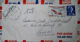 H 14  Lettre Ou Carte Ou Documents  Lettre+courrier En Pneumatique 1958 - Briefe U. Dokumente