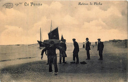 Belgique   La Panne - Retour De Pëche - Edit. Marcovici N° 131 Bis - De Panne