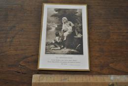 Image Pieuse Souvenir De Première Communion Jeanne COULIER Chapelle De Notre-Dame Aux Epines Eecloo 1908 Eeklo Bouasse - Santini