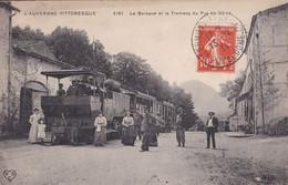 Clermont Ferrand La Baraque Et Le Tramway Du Puy De Dôme - Other Municipalities