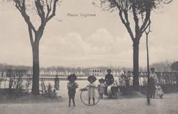 MANTOVA-PIAZZA VIRGILIANA-CARTOLINA  NON VIAGGIATA-1909-1915 - Mantova