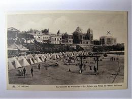 FRANCE - CHARENTE MARITIME - ROYAN - La Conche De Foncillon - Le Palais Des Fêtes Et L'Hôtel Bellevue - 1933 - Royan