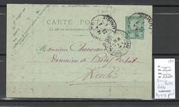 Tunisie - CP Entier - Avec Repiquage Privé - 1911 - Lettres & Documents