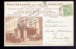 137 / CP Entête Illustrée Photographie Blanckart Hasselt 1 XI ( Pas De Millésime ) => Bruxelles - Storia Postale