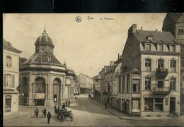 CP ( Spa: Le Pouhon) Obl. CONFERENCE DIPLOMATIQUE ( Bilingue) - SPA -  11/07/1920 - Poste Rurale