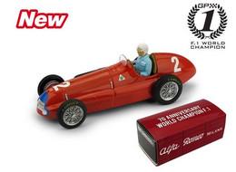 Alfa Romeo 158 - Nino Farina - 1st GP FI G-B & Europe 1950 #2 - Brumm (+ Pilot) - Brumm