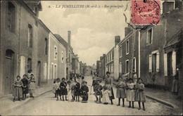 CPA La Jumellière Maine-et-Loire, Rue Principale - Andere Gemeenten