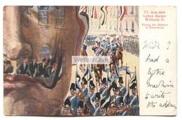 Aus Dem Leben Kaiser Wilhelm II - Einzug Des Kaisers In Srassburg - 1901 Used Postcard - Case Reali