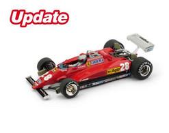 Ferrari 126C2 - Mario Andretti - 3rd GP FI Italie 1982 #28 - Brumm (+ Pilot) - Brumm