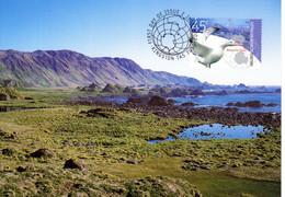 """"""" PAYSAGE / TASMANIE / A.A.T. """" Sur Carte Maximum Et PAP Neuf Du Territoire Antarctique Australien De 2002 Parf état CM - Tarjetas – Máxima"""
