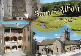 SAINT ALBAN Sur LIMAGNOLE : Multi  Vues - Saint Alban Sur Limagnole