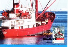 """"""" LE THALA DAN / A.A.T. """" Sur Carte Maximum Et PAP Neuf Du Territoire Antarctique Australien De 2002 Parf état CM - Tarjetas – Máxima"""