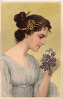 Femme ART NOUVEAU    (8106 ASO) - 1900-1949