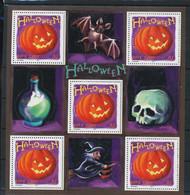 NN - NB - [95324]SUP//**/Mnh-NN-France 2001, Halloween, Le Bloc, Chauve-souris - Altri