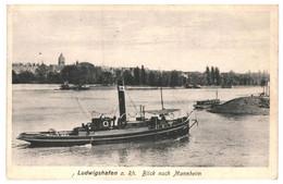 CPA- Carte Postale Germany- Mannheim- Ludwigshafen A Rhein Blick Nach Mannheim 1933 VM36718x - Mannheim