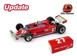 Ferrari 126CK Turbo - Gilles Villeneuve - GP FI Italie 1981 #27 - Brumm - Brumm