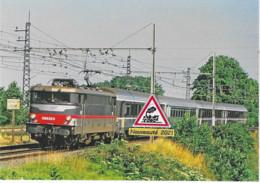 701 - BB 9325 Et Train Corail Vers Toulouse, à Grisolles (82) - - Trains