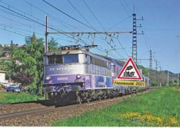 702 - BB 9306 Et Train Corail Vers Bordeaux, à Pompignan (82) - - Other Municipalities