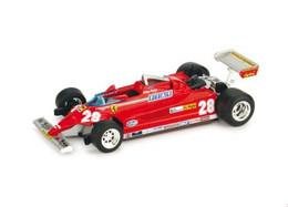 Ferrari 126CK Turbo - Didier Pironi - 4rd GP FI Monaco 1981 #28 - Brumm - Brumm