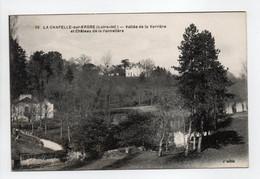 - CPA LA CHAPELLE-SUR-ERDRE (44) - Vallée De La Verrière Et Château De La Pannetière - Edition Chapeau N° 35 - - Other Municipalities