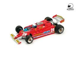 Ferrari 126CK Turbo KKK - Didier Pironi - GP FI USA Ouest 1981 #28 - Brumm - Brumm