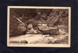 103611     Svizzera,    Dans Les  Gorges De La Jogne,  NV(scritta) - FR Fribourg