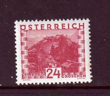 AUSTRIA  -  1929 Views 24g Hinged Mint - Unused Stamps