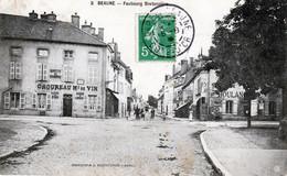 CPA - BEAUNE (21) - Fbg Bretonniere  - Buvette Du Tramway - Beaune