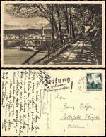 Ansichtskarte Traunstein Quellenweg Mit Blick Auf Traunstein. 1936 - Traunstein