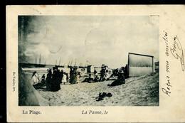 CP ( La Plage. La Panne , Le ... ) Obl. PANNE ( BAINS) 08/?? /1900 - Posta Rurale