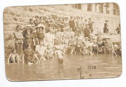 ABBAZIA (?) - Gruppo Di Persone A Mare - Cartolina D'epoca  Formato Piccolo - Kroatië