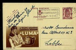 Publibel Obl. N° 727 ( Casserole Moderne - LUMA) Obl. CHARLEROI  1948 - Publibels