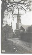 CARTE-PHOTO PAS-de-CALAIS WW1  METZ-EN-COUTURE Occupation Allemande L'Eglise Et L'hôtel De Ville - Altri Comuni