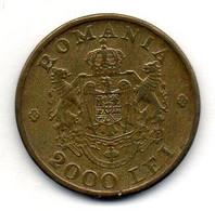 ROMANIA, 2.000 Lei, Brass, Year 1946, KM #69 - Romania