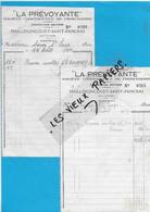 70 - Haute-saône - MAILLERONCOURT-ST-PANCRAS - Facture SOCIETE COOPERATIVE DE FROMAGERIE - 1944 - REF 193A - 1900 – 1949