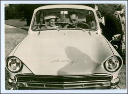 S2629/ Prinz Bernhard Von Niederlande Im Auto DAF   AK 1962 - Königshäuser