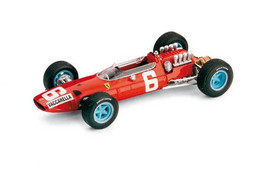 Ferrari 158 - Nino Vaccarella - 12th GP FI Italy 1965 #6 - Brumm - Brumm