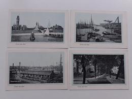Y19538/ 4 X AK KIEL  Werft, Hafen Usw. Ca.1912 - Kiel