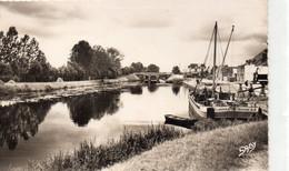 Blain Le Port Le Canal Péniche Batellerie - Blain