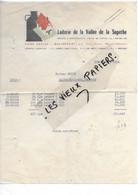 70 - Haute-saône - MELINCOURT - Facture LAITERIE DE LA VALLEE DE LA SUPERBE - 1954 - REF 193A - 1900 – 1949