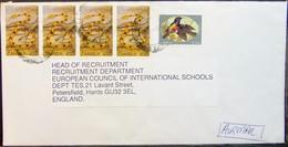 Zambia - Cover To England 1996 Bird Snake - Kolibries