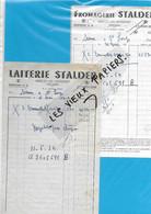 70 - Haute-saône - MERCEY-LES-GEVIGNEY - Facture STALDER - Fromagerie - 1954 - REF 193A - 1900 – 1949