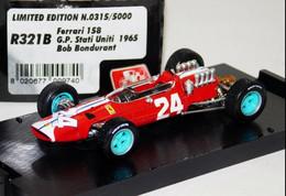 Ferrari 158 - Scuderia N.A.R.T. - Bob Bondurant - 9th GP FI USA 1965 #24 - Brumm - Brumm