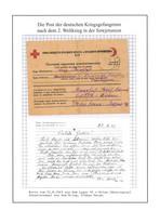 Kriegsgefangenenpost Lager 95 / Usman UdSSR Nach Linden / Otterfing 22.8.1945 - Briefe U. Dokumente