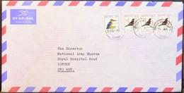 Kenya - Cover To England Birds - Kolibries