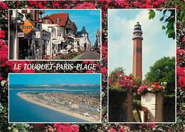 62 - Le Touquet - Multivues - Fleurs - Phare - CPM - Voir Scans Recto-Verso - Le Touquet