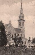 CPA - St DONAN - L'église … - Otros Municipios
