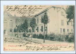 V1293/ Elmshorn Bürgermeister Haus Uns Bismarck Denkmal 1904 AK - Non Classés