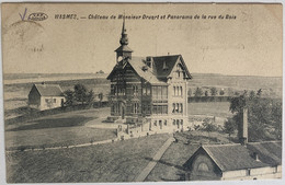 Wasmes - Château De Monsieur Druart & Panorama De La Rue Du Bois - Postée 1914 - Mons